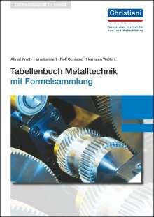 Alfred Kruft: Tabellenbuch Metalltechnik, Buch