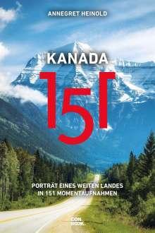 Annegret Heinold: Kanada 151, Buch