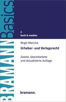 Birgit Menche: Urheber- und Verlagsrecht, Buch