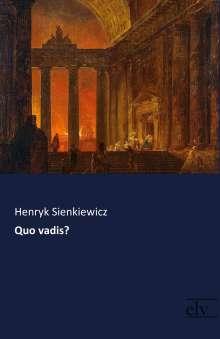 Henryk Sienkiewicz: Quo vadis?, Buch