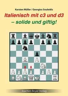 Karsten Müller: Italienisch mit c3 und d3, Buch
