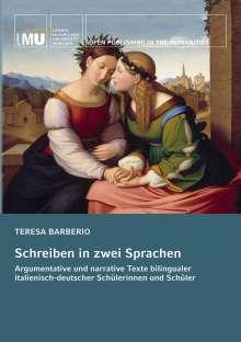 Teresa Barberio: Schreiben in zwei Sprachen, Buch