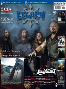 Björn Sülter: Legacy Magazin: The Voice From The Darkside, Buch