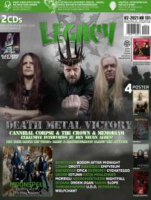 LEGACY MAGAZIN: THE VOICE FROM THE DARKSIDE Ausgabe #131 (2/2021), Buch