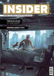 INSIDER MAGAZIN. Ausgabe #52 (4/2021), Buch