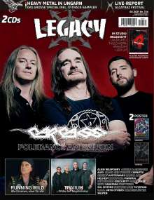 Legacy Magazin: The Voice From The Darkside, Buch