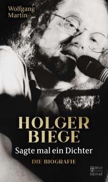Wolfgang Martin: Sagte mal ein Dichter, Buch