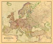 Historische Verkehrskarte von EUROPA 1941 [gerollt], Buch