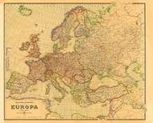 Historische Verkehrskarte von EUROPA 1942 [gerollt], Buch