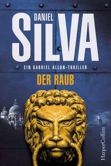 Daniel Silva: Der Raub, Buch