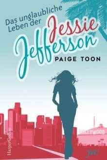 Paige Toon: Das unglaubliche Leben der Jessie Jefferson, Buch