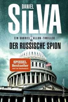 Daniel Silva: Der russische Spion, Buch