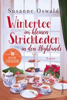 Susanne Oswald: Wintertee im kleinen Strickladen in den Highlands, Buch