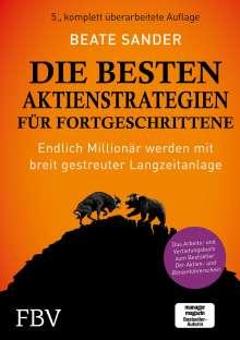 Beate Sander: Die besten Aktienstrategien für Fortgeschrittene, Buch
