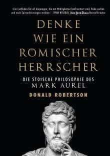 Donald Robertson: Denke wie ein römischer Herrscher, Buch