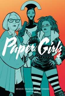 Brian K. Vaughan: Paper Girls 4, Buch
