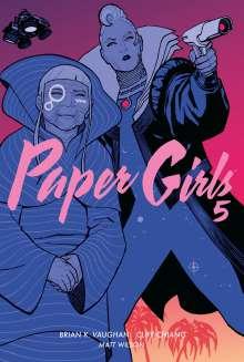 Brian K. Vaughan: Paper Girls 5, Buch