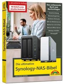 Wolfram Gieseke: Die ultimative Synology NAS Bibel - Das Praxisbuch - mit vielen Insider Tipps und Tricks - komplett in Farbe, Buch