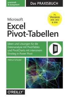 Helmut Schuster: Microsoft Excel Pivot-Tabellen: Das Praxisbuch, Buch