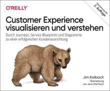 James Kalbach: Customer Experience visualisieren und verstehen, Buch
