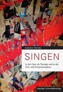Bernd Weikl: Singen, Buch