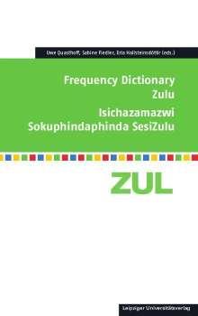 Frequency Dictionary Zulu, Buch