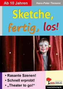 Hans-Peter Tiemann: Sketche fertig, los!, Buch