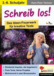 Hans-Peter Tiemann: Schreib los!, Buch