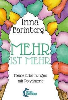 Inna Barinberg: Mehr ist Mehr, Buch