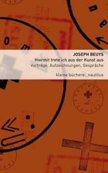 Joseph Beuys: Hiermit trete ich aus der Kunst aus, Buch