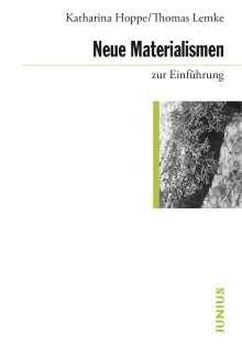 Katharina Hoppe: Neue Materialismen zur Einführung, Buch