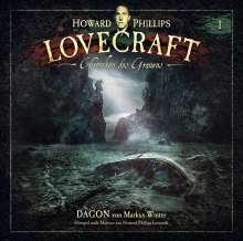 Chroniken des Grauens 1: Dagon (2x180g LPs), 2 LPs