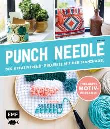 Anisbee: Punch Needle - Der Kreativtrend: Projekte mit der Stanznadel, Buch