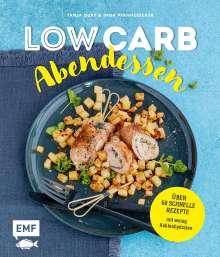 Tanja Dusy: Low Carb Abendessen - Über 60 schnelle Rezepte mit wenig Kohlenhydraten, Buch
