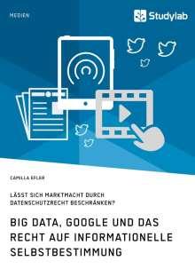 Camilla Efler: Big Data, Google und das Recht auf informationelle Selbstbestimmung, Buch