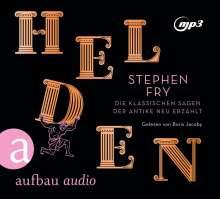 Stephen Fry: Helden, 2 MP3-CDs