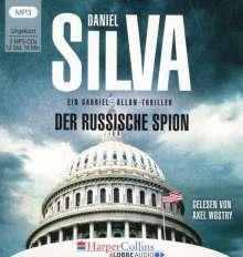 Daniel Silva: Der russische Spion, 2 MP3-CDs