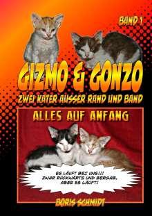 Boris Schmidt: Gizmo & Gonzo. Alles auf Anfang, Buch