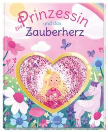 Anna Almhoff: Die Prinzessin und das Zauberherz, Buch