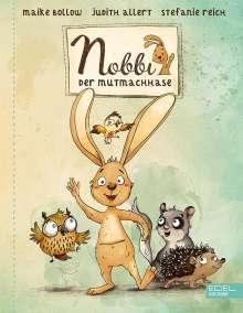 Maike Bollow: Nobbi, der Mutmachhase, Buch