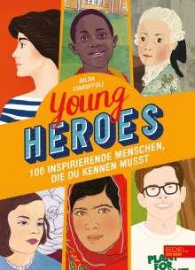 Gilda Ciaruffoli: Young Heroes, Buch