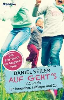 Daniel Seiler: Auf Geht's, Buch