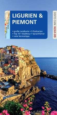 Robin Sommer: GO VISTA: Reiseführer Ligurien und Piemont, Buch
