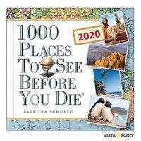 Patricia Schultz: 1000 Places to see before you die 2020 Tageskalender - In 365 Tagen um die Welt, Diverse