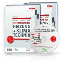 Recknagel - Taschenbuch für Heizung und Klimatechnik 79. Ausgabe 2019/2020 - Premiumversion, 2 Bücher