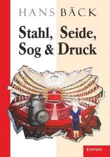 Hans Bäck: Stahl, Seide, Sog & Druck, Buch