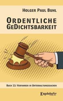 Holger Paul Buhl: Ordentliche GeDichtsbarkeit, Buch
