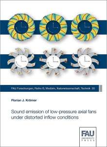 Florian J. Krömer: Sound emission of low-pressure axial fans under distorted inflow conditions, Buch