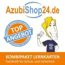 Michaela Rung-Kraus: AzubiShop24.de Kombi-Paket Lernkarten Fachkraft für Schutz und Sicherheit, Buch