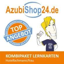 Michaela Rung-Kraus: AzubiShop24.de Kombi-Paket Lernkarten Hotelfachmann/-frau, Buch